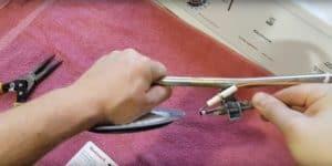 Remove the thermocouple
