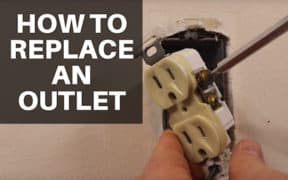 Electrical Outlet Replacement