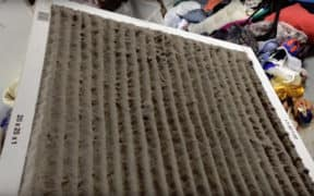 Dirty Furnace Filter
