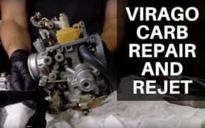 Virago Carburetor Rebuild