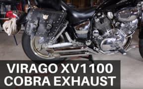 Virago XV1100 Cobra Exhaust