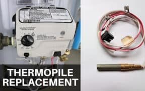 How to replace a thermopile